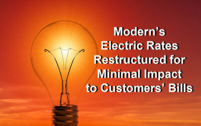 Electric Rates Restructured for Minimal Impact