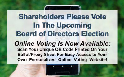 Shareholders Please Vote